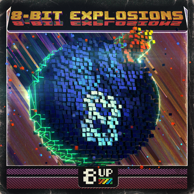 8-Bit Explosions Packshot by 8UP