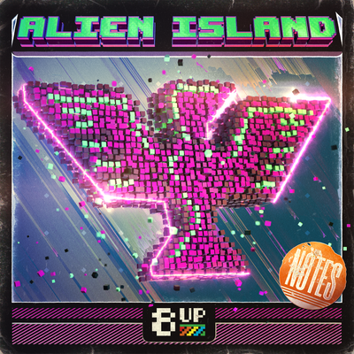 Alien Island Notes Packshot by 8UP