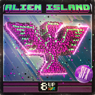 Alien Island Sound Effects Packshot by 8UP