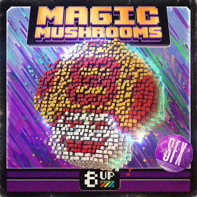 Magic Mushrooms Sound Effects Packshot by 8UP