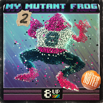 My Mutant Frog Notes 2 Packshot by 8UP