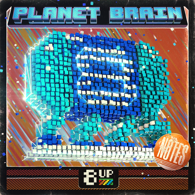 Planet Brain Notes Packshot by 8UP