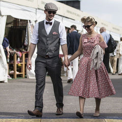 Vintage style at the Goodwood Revival Otway & Orford