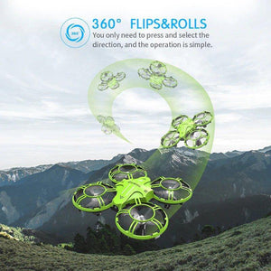 Mini Drone 2.4GHZ Quadcopter RTF Groen - KOOPNET