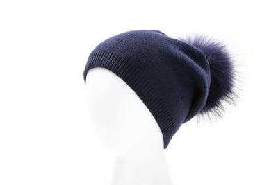 Ladies winter hat navy