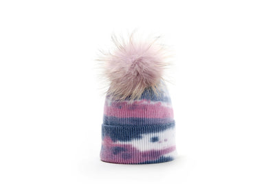 Tie Dye Ladies Winter Hat