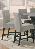 Stanton Contemporary Black Counter-Height Table - Furniture Lobby