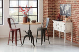 Rustic Antique Bronze Bar Stool - Furniture Lobby