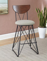 Bar Stool 182459 (Set 2) - Furniture Lobby