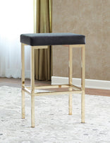 Bar Stool 182929 (Set 2) - Furniture Lobby