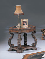 Garroway Traditional Brown End Table - Furniture Lobby