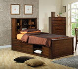 Hillary Twin Bookcase Bed - Furniture Lobby