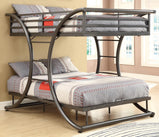 Stephan Metal Full-over-Full Bunk Bed - Furniture Lobby