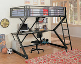 Full Workstation Loft Bed 460092 - Furniture Lobby