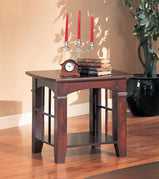 Abernathy Cherry End Table - Furniture Lobby