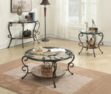 Traditional Brown Coffee Table - Furniture Lobby