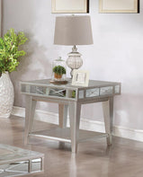 Bling Mirrored End Table - Furniture Lobby