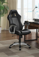 Contemporary Black and Grey Office Chair - Furniture Lobby