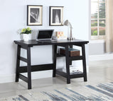 Transitional Black Writing Desk - Furniture Lobby