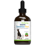 Dandelion Root for Dog Liver Health, Digestion, Blood Sugar support