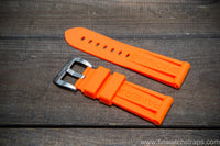 Silicon/ Rubber Panerai watch strap 24 mm, 26 mm.