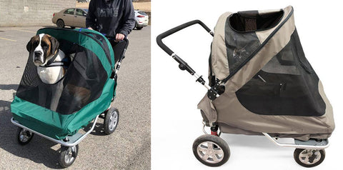 big senior dog stroller