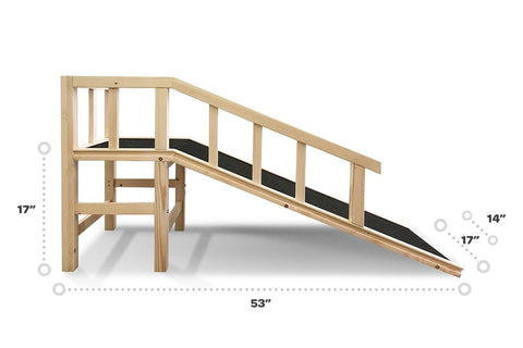 Gentle Rise™ Dog Couch Ramp (PRE-ORDER Aug 15th)