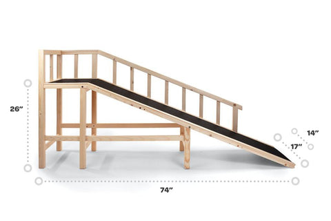 Gentle Rise™ Dog Bed Ramp