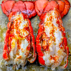 The Best Easy Broiled Lobster Tails