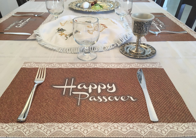 Happy Passover Placemat