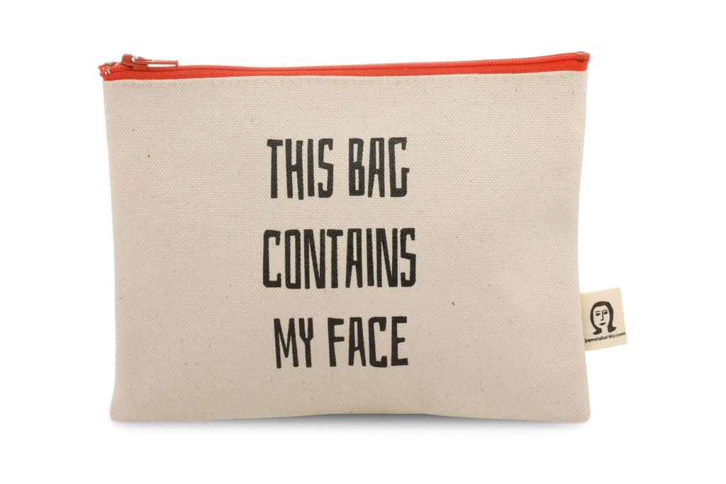 This Bag Contains My Face make-up bag