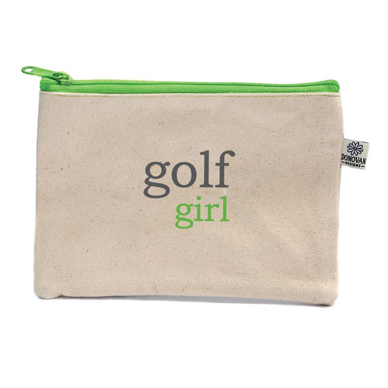 Golf Girl Embroidered Bittie bag