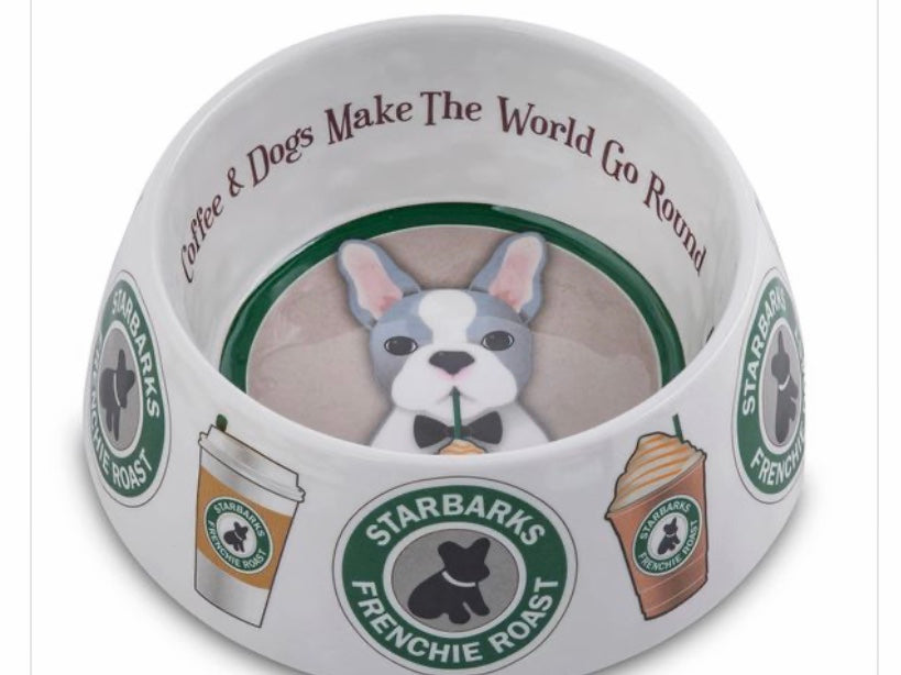 Coffee and Dogs dog dish