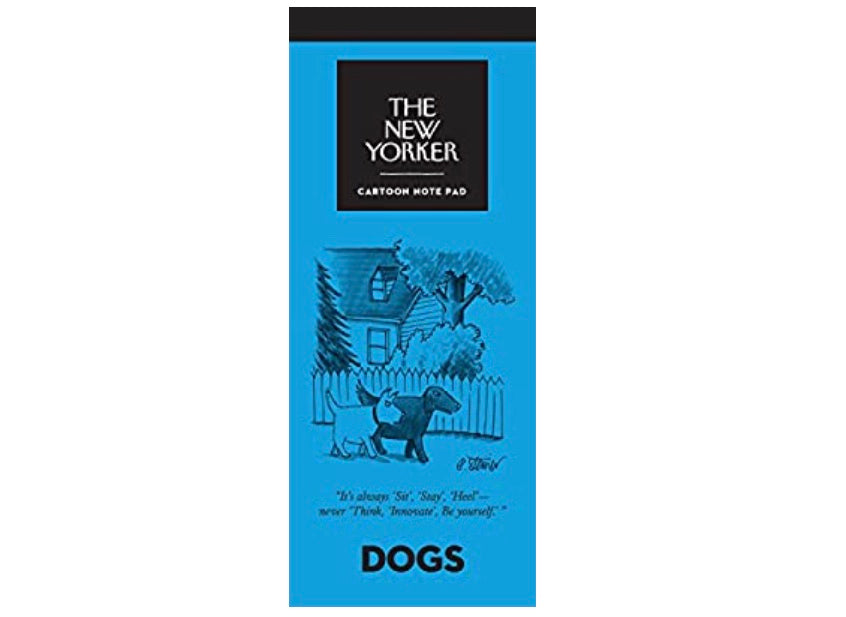 The New Yorker Cartoon Dogs Notepad