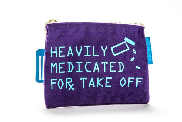Heavily Medicated Travel Pouch