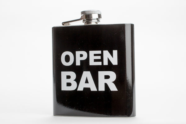 Open Bar flask