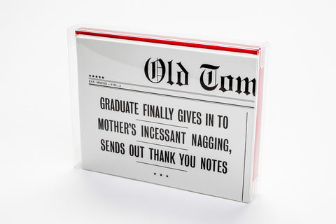 Hilarious graduation notes
