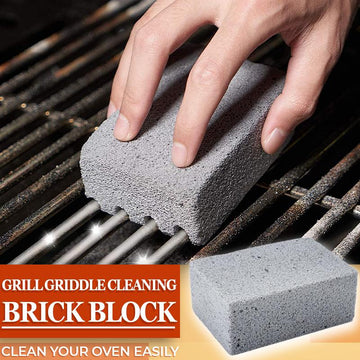 🔥Summer Limited Time-50% OFF🔥Grill Griddle Cleaning Brick Block (4 PCS)