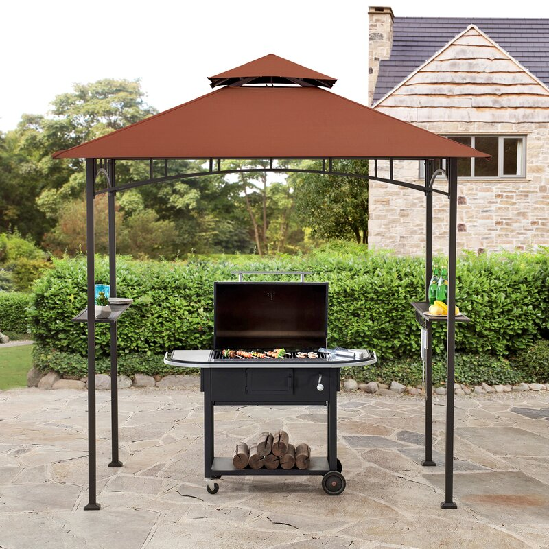 Say Hello To Spring By Having A Grilling Feast Under The Harper Grill Gazebo
