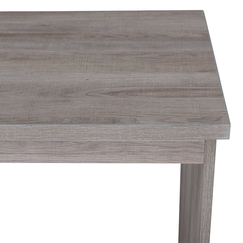 Studio Space Driftwood Looking Finish Shell Writing Desk
