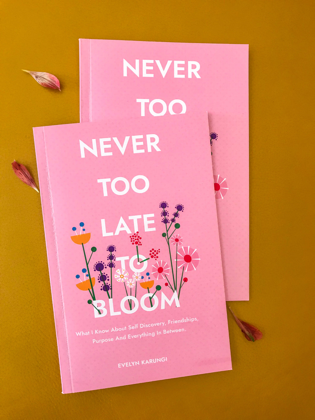 Never Too Late to Bloom by Evelyn Karungi