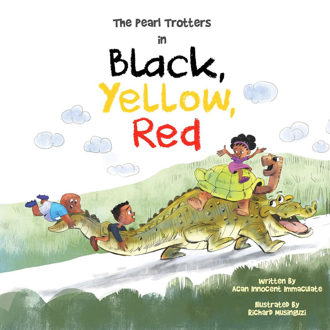The Pearl Trotters in Black Yellow Red by Acan Innocent Immaculate