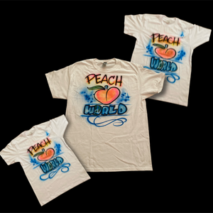 Peach World Sample Tee