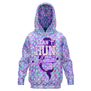 I'm a Mermaid - Fashion Kids Hoodie