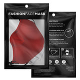 Adjustable Red Face Mask - 3 PACK (Youth & Adult)