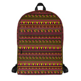 Backpack-Laptop African Design