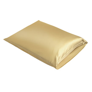 Satin-Pillow Kussensloop Goud Satijn