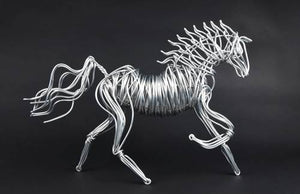 DM's Small Aluminum Horse