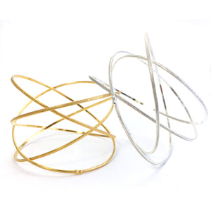 K Maley Gold Orbit Bracelet
