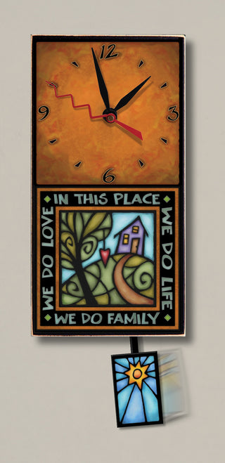 MC We do Family Clock